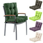 Outdoor Garden Chair Tufted Seat High Back Cushion Pad Wateproof Dining Patio