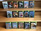 Lot of 16 Used X box 360 Games, 2 Halo, Spartan, Ghost Recon, Area-51....