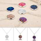 1PC Women Crystal Necklace Pendant Chain Shimmer Jewelry Ornament Party Gift