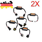 2x H1/H3/H4/H7/H11/H9/H8/9005/9006/9012 Car Auto Light LED Canbus Error Decoder