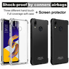 For Asus Zenfone 5 ZE620KL / 5z ZS620KL Cover Soft TPU Clear Case + Screen Film
