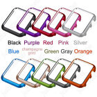 Aluminum Metal Protective Cover Bumper Case For Apple Watch iWatch 3/2/1 42/38mm