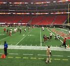 (2) Atlanta Falcons v. Carolina Panthers - 9/16/18 - Second Row, Lower Level