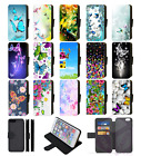 BUTTERFLY Design Wallet Flip Phone Case Cover Galaxy S7 S8 S9 S10 S20 Plus Ultra