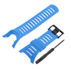 for Suunto Ambit 1 2 3 Luxury Rubber Watch Band Strap 24mm with Screwdriver Tool