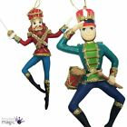 Gisela Graham Nutcracker Soldier Hanging Christmas Tree Decoration Resin 13.5cm