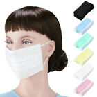 50pcs Disposable Mouth Flu Mask For Surgical Face Salon Dust Ear Loop Medical