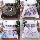 Luxury Wind Chime Moon Quilt Cover Pillowcase Comfortable Bedding Set Queen/King