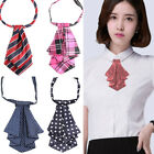 Внешний вид - Formal Commercial Bow Tie Women Cravat Silk Waitress Neck Wear