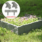 10/20/40X Edging Cobbled Effects Plastic Plants Hammer-In Lawn Palisade Garden