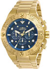 Invicta Men's Pro Diver Quartz Chrono 100m Gold Tone Stainless Steel Watch