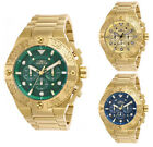 Jewelry Watches - Invicta Men's Pro Diver Quartz Chrono 100m Gold Tone Stainless Steel Watch