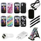 htc amaze cases - For HTC Amaze 4G Design Snap-On Hard Case Phone Cover Combo