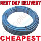 32x100m Blue MDPE Water Main Supply Alkathene Pipe 50 metre 50mtr underground 25