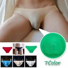 Men Underwear Triangle Briefs Pouch Bulge Cotton Soft Breathable Elastic Bathing