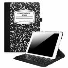 "Rotating Built-in Keyboard Case Cover for iPad 9.7"" 2018 2017 / iPad Air / Air 2"