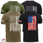 Rothco Men's Athletic Fit Distressed US Flag T-Shirt image