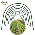 Garden plant Grow Tunnel, 6/10 Pcs Greenhouse Hoops, Garden Fabric Support Frame