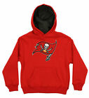 OuterStuff NFL Kids Tampa Bay Buccaneers Prime Pullover Hoodie, Red