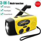 Kyпить Emergency Solar Hand Crank NOAA Weather Radio Power Bank Charger Camping Tool на еВаy.соm
