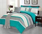 Sweet Home Collection 6 Piece Down Alternative Decorative Fashion Comforter