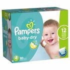 Pampers Baby Dry Diapers,  Size 1 2 3 4 5 6 - [Free Shipping]
