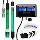 PH & EC Conductivity Moniteur Testeur Rechargeable Aquaculture Hydroponique