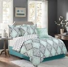 Sweet Home Collection 5 Piece Down Alternative Decorative Fashion Bedding Set
