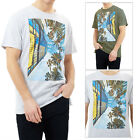 Brave Soul Mens View Crew Neck T Shirt Short Sleeve Casual Graphic Photo Tees