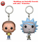 Keychain Rick and Morty Action Vinyl Figure Bobble Head Q Edition