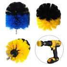 Useful Drill Power Scrub Clean Brush Leather Plastic Wooden Furniture Brush 1pc