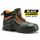 Mens Safety Boots Composite Toe Cap Made with Kevlar Shoes Ankle Size Metal Free