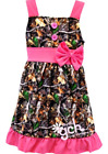 Pink Camo Camouflage Dress girl's size 12-18m 18-24m  2 3 4 5 6 7 8 10 12 gch