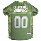 Pets First Cleveland Browns Camo Jersey