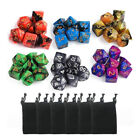 7-10-21-35-42pcs Polyhedral D4-D20 Dice For TRPG Board Game Dungeons And Dragons
