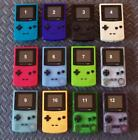 color in game - Nintendo Game Boy Color System w/Black Buttons-Glass Screen -Pick Shell Color!