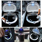LED Cigarette Smoke Ashtray Ash Cylinder Cup Holder Auto Car Truck Precise 1PC