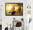 3d Merman Ferry 6 Fake Framed Poster Home Decor Print Painting Unique Art Summer