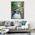 3d Waterfall Sone 667 Fake Framed Poster Home Decor Print Painting Unique Art