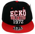 Ecko 1972 Unlimitd New Snapback Caps Mens Ladies Baseball Hip Hop Flat Peaks Era