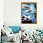 3d Starry Sky Cloud 55 Fake Framed Poster Home Decor Print Painting Unique Art