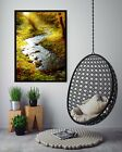 3d Grass River 557 Fake Framed Poster Home Decor Print Painting Unique Art