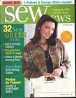 Sew News Magazine Apr 2009 Recycling Log Cabin Apron Grocery Tote Interfacing