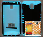 KoolKase Hybrid Silicone Cover Case for Samsung Galaxy Note 3 - Dots Peach