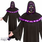 Mens Adult Secret High Priest Scary Horror Halloween Fancy Dress Costume & Mask