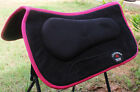 Western Horse SADDLE PAD Barrel Memory Foam Anitislip Bottom 3983
