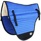 Horse SADDLE PAD Western 26X22 Endurance Fleece Cotton Quilted 39165-168