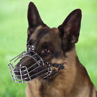Dog Muzzle German Shepherd Metal Basket
