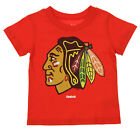Reebok NHL Toddlers Chicago Blackhawks Sweater Emblem Tee, Red on eBay