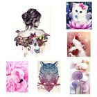 Full 5D Diamond Painting Embroidery DIY Paint-By-Number Kit Home Art Decor